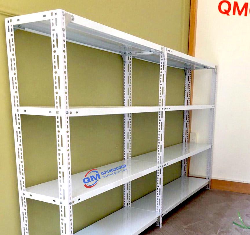 Kệ sắt V lỗ 4 tầng QM01