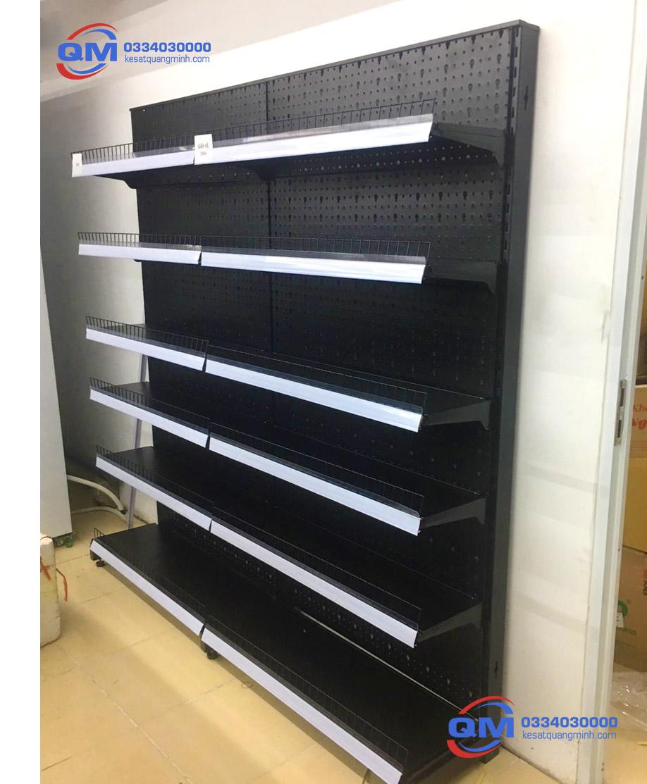 Kệ siêu thị đơn lưới 210cm